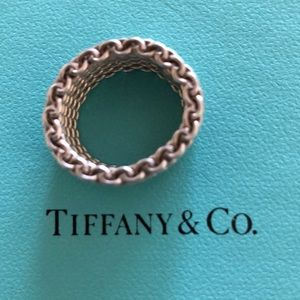 Authentic beautiful Tiffany Sterling Silver Ring